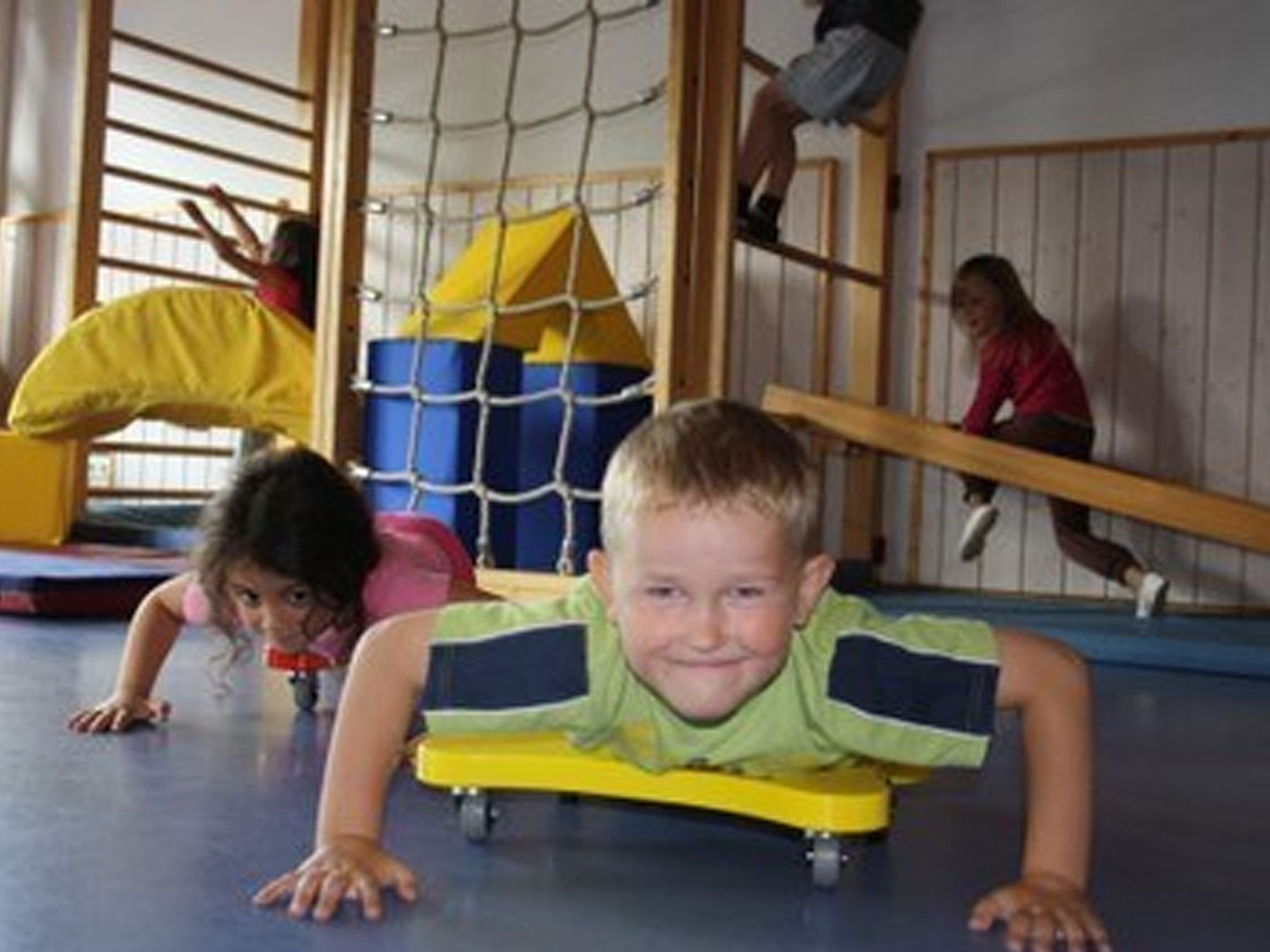 Bewegungsbaustelle Bewegungsturnen